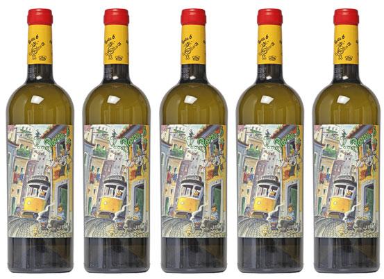 aanbieding witte wijn